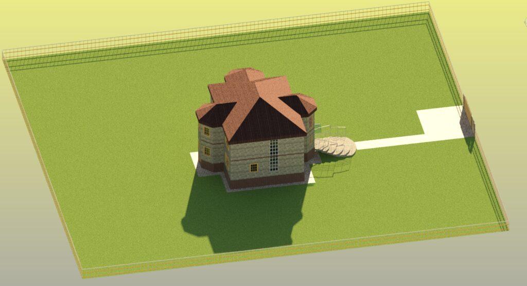 3Д вид4 дом 15400 на 14600