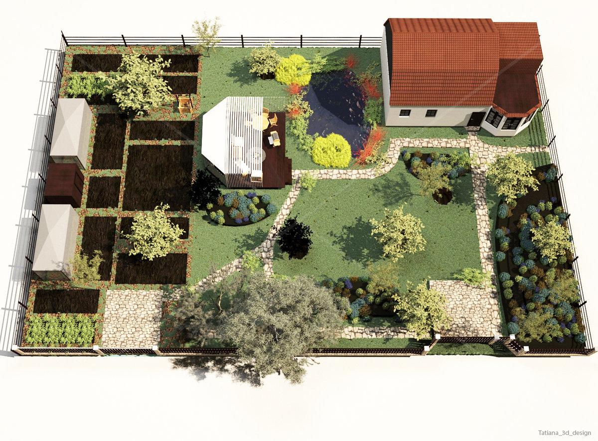комплекс план сада и огорода фото надо ставить