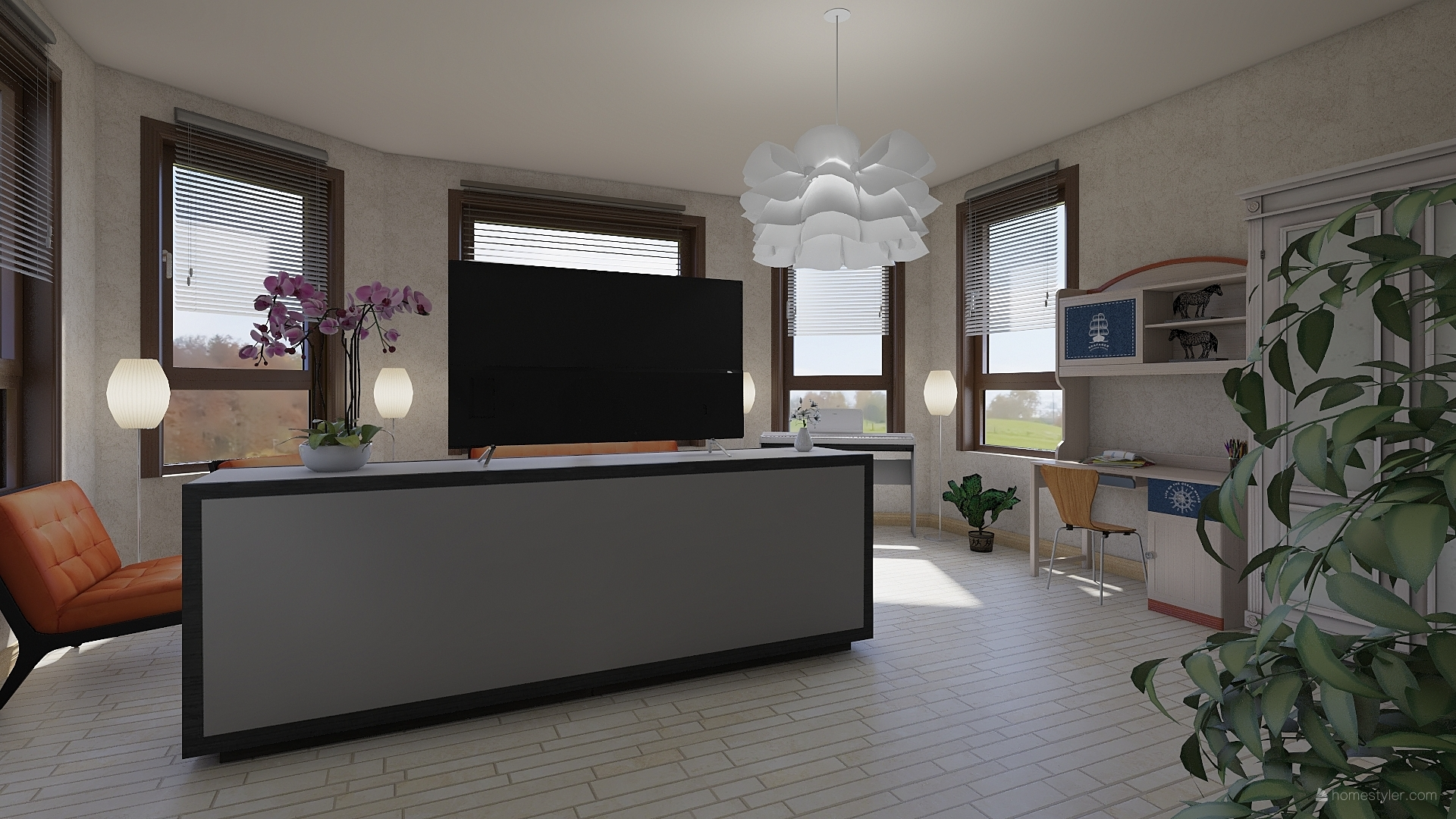 кухня гостиная 3-5