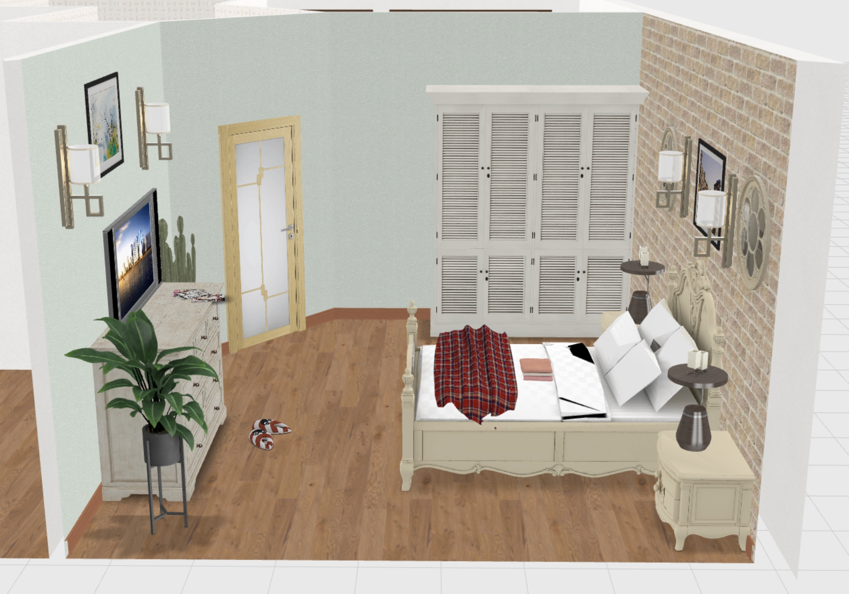 спальня 3 общий план